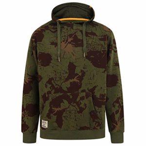Navitas Angel Pull à Capuche BSC Camo Vert – Sweat à Capuche avec Poche Frontale Angler S Camouflage