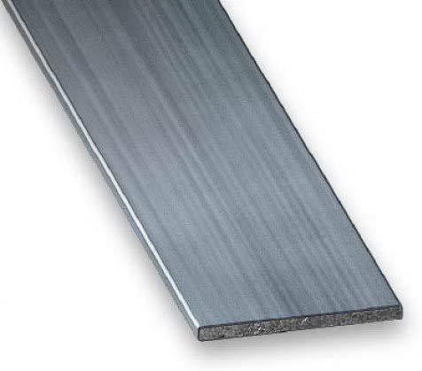 Plat en Acier Inoxydable Wzwwjs Barre métallique Long 500mm, épaisseur de 3 mm, Largeur: 10 mm, 15 mm, 20 mm,20mm