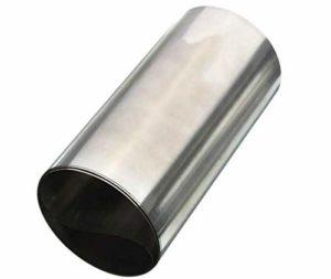 Wzwwjs 304 Feuilles en Acier Inoxydable Feuille Mince, Longue: 2000mm, Largeur: 200 mm, épaisseur: 0,12 mm à 0,2 mm,Thickness:0.2mm