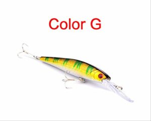 1 pièce de 12,5 cm 14g appât Dur à Bascule de pêche appât Artificiel appât 12,5 cm G