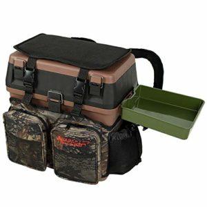 Arapaima Fishing Equipment® boîte de pêche   Siège boîte de Rangement   Sac à Dos   Tackle seatbox OneSize