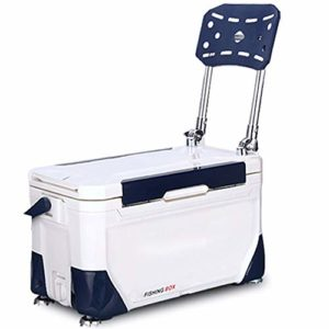 Boîte de pêche multifonctionnelle, Équipement Complet pêche Bucket Four Angle de Levage Pêche Multifonctionnel de Nuit Boîte avec Chaise (Color : White, Size : One Size)
