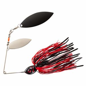 Booyah Pikee Spinnerbait, Red Craw