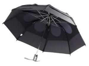 Gustbuster Metro Parapluie automatique Noir 43 Inch