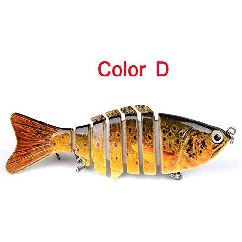 HeartMove 10CM / 12.1G Premium 7 Sections Leurres de Pêche Multicolores