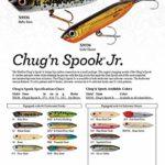 Heddon Junior Chug N l'Épouvanteur Leurre de pêche, G-Finish Bullfrog