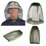 Lezed Anti Mosquito Head Net Unisexe Chapeau Outdoor Anti Mosquito Insect (3 pièces)
