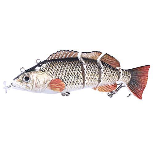 MJYT Electric Fishing Lure Wobblers Multi-Section Swimbait USB Rechargeable Bait