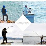MUMAX Lot de 5 leurres de pêche artificiels avec hameçon Triple réaliste