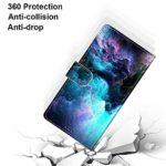 Nadoli Coloré Portefeuille Coque pour Samsung Galaxy A70S,Cool Drôle Animal Fleur Papillon Séries Créatif Faux Cuir Magnétique Flip Housse Etui avec Fentes pour Cartes et Dragonne
