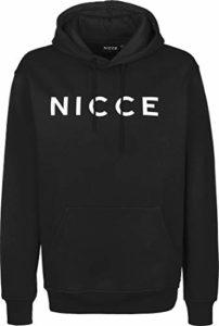 Nicce – Sweat à Capuche Original Logo Hood Couleur – Noir, Taille – M