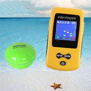 Nologo SNUIX Fish Finder/Appareil de pêche, TL86 Couleur sans Fil Portable écran pêche Appareil Fishfinder