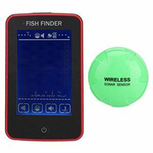 Nologo SNUIX Fish Finder/Pêche Appareil, Couleur étanche sans Fil Portable écran Tactile for Tous Les Types de pêche