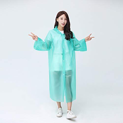 QingYu imperméable Imperméable épaissi Imperméable Manteau De Pluie l'homme Femmes Transparent Camping Imperméable Imperméable