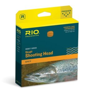 Rio Brands Redington Fly Line Skagit Maxi-Head 725 GR Ligne de pêche, Bleu Sarcelle/Orange