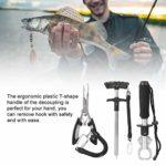 SolUptanisu Pince de pêche, Pince à leurre de pêche en Acier Inoxydable et Pince avec des Outils de pêche pour Les hameçons