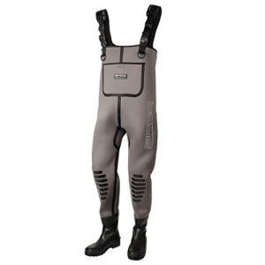 Spro Pantalon en néoprène 5 mm avec Bottes en Caoutchouc Taille 42