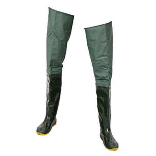 VANKOA Bottes de Pêche en PVC Respirante – Imperméables – 42