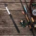 Wallfire Mini canne à pêche de poche portable super légère télescopique en fibre de verre pour pêche en plein air