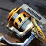 XXBFDT Anti-Corrosion Moulinet Carpe de Peche en Mer – Navire de pêche Tout en métal sans Espace-Type 6000