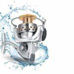 XXBFDT Anti-Corrosion Moulinet Carpe Max Frein de pêche – Roue de pêche à 13 essieux-Type 7000
