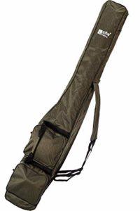 Zite Fishing Canne à Pêche avec 3 Compartiments – Rod Bag 150cm – Sac de Transport de Pêche en Optique Kevlar