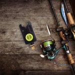 BESPORTBLE Alarme de Morsure de Pêche Électronique Sensible Canne à Poisson Poteau Cloche Alerte Poisson Morsure Alarme Sonore Cloche Clip sur Outil de Canne à Pêche