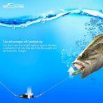 Booms Fishing CRR Outils de Pêche,Carolina Prêt Rig Plomb en Laiton