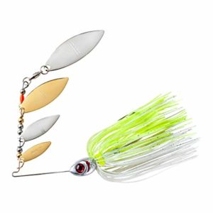 Booyah Super Shad, Silver Chartreuse