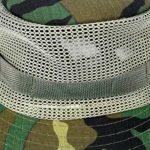 Faletony Moskito Chapeau de tête en maille filet pour l'extérieur Protection UV Chapeau de pêche Chapeau de pêche Safari Moustiquaire Chapeau de camouflage pour homme femme – – Taille Unique
