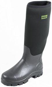 Michigan – Bottes de pluie en néoprène – imperméable – boue/agriculture/pêche – noir – EU 43