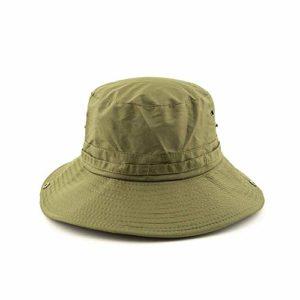 MLTYQ Envoyé pour Les aînés Chapeau de Soleil Chapeau de visière de pêche pour Hommes en été, Escalade en Plein air, crème Solaire, Chapeau de Rue Respirant, UPF50 + $ w $ (Couleur: C)