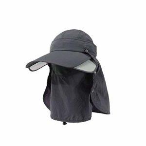 MLTYQ Envoyé pour Les aînés Chapeau de Soleil pour Les Hommes et Les Femmes en été Chapeau de pêche Estival Chapeau de Protection Contre Le Soleil Chapeau de Protection UV Chapeau de Protection ex
