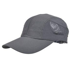 MLTYQ Envoyé pour Les aînés Chapeau d'été, Casquette de Baseball extérieure à séchage Rapide pour Homme, 5 Couleurs optionnelle $ w $ (Couleur: 3#)