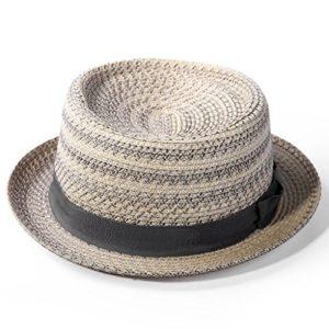 MLTYQ Envoyé pour Les aînés Chapeau d'été, Chapeau à visière pour Homme Chapeau à visière en dôme pour Homme, 4 Couleurs en Option $ w $ (Couleur: 2#)