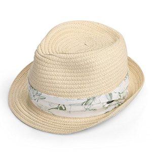 MLTYQ Envoyé pour Les aînés Chapeau d'été, Couleur Unie Soleil Chapeau Pare-Soleil Homme, 2 Couleurs en Option 57cm $ w $ (Couleur: 1#)