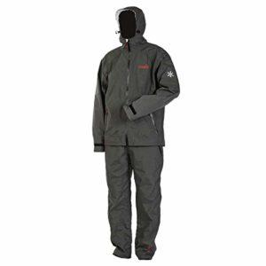 Norfin Light Shell – Combinaison de pluie pour la pêche, la chasse et la randonnée – Imperméable, isolant et respirant – Résistant au vent – Respirant Nortex – Chaud et confortable (M)