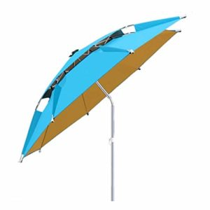 Parapluie de Patio extérieur Grand Parapluie Direction d'ajustement à 360 degrés