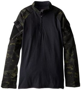 Tru-Spec Maillot de Combat, Mixte, 2539026, Multicam Black, XL Long