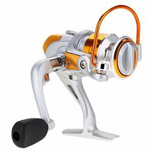 VGEBY1 Moulinet de Pêche, 12BB 5.2: 1 Fishing Spinning Reels Métallique Accessoires de Roue 1000 2000 3000 4000 5000 6000 7000 Series(BL3000)