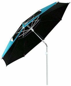 WENYAO Parasols de Jardin Parapluie de Patio en Aluminium Le Parapluie d'extérieur Peut être incliné Convient pour la pêche/Le Camping/Le Jardin (Taille: M)