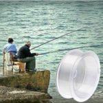 WWTTE Ligne de pêche ultra résistante 5,0 # 0,370 mm 13 kg dédiée à la pêche fluviale au faucon (blanc) N