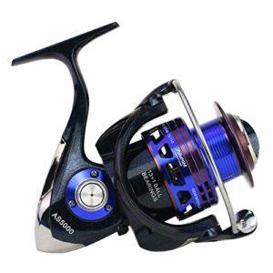 XXBFDT Mer Rapid Moulinet de pêche – Moulinet de pêche Tout métal-Type 7000