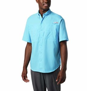 Columbia Men's Tamiami II Short Sleeve Shirt, Medium, Riptide