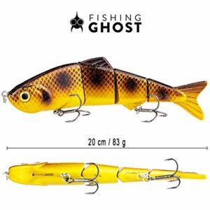 FISHINGGHOST Bait Candy, Longueur: 20 cm, Poids: 83 grammes, leurres artificiels Swimbait/leurres de pêche/wobblers