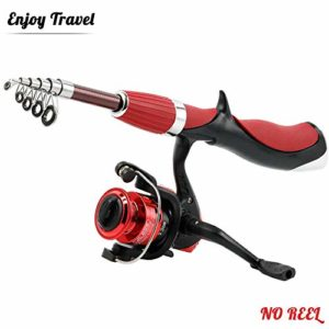 GWFISH Canne a Peche Silure Surfcasting Spinning Truite, Mini Ultra Court Fishing Rod Enfant Carpe Télescopique Portable 99% Carbone Casting Carnassier Ultra Léger Pôle de Pêche,Rod