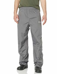 HUK H4000016-010-S Pantalon de Pluie pour Homme Gris Anthracite Taille S