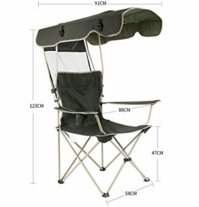 Secret night Extérieur Portable Réglable Chaise Pliante Chaise De Pêche Chaise De Plage Ombre Chaise Backpacking Président