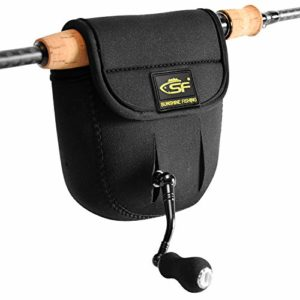 SF Jetant Baitcast bobines Coque Compatible avec 50100200300-series Baitcaster, Black Spinning Reel Case, 7000 Series or Up