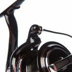 Sonik SKS 8000 SURF REEL Rouleau de pêche à la plage avec grande manivelle et grande capacité de moustache